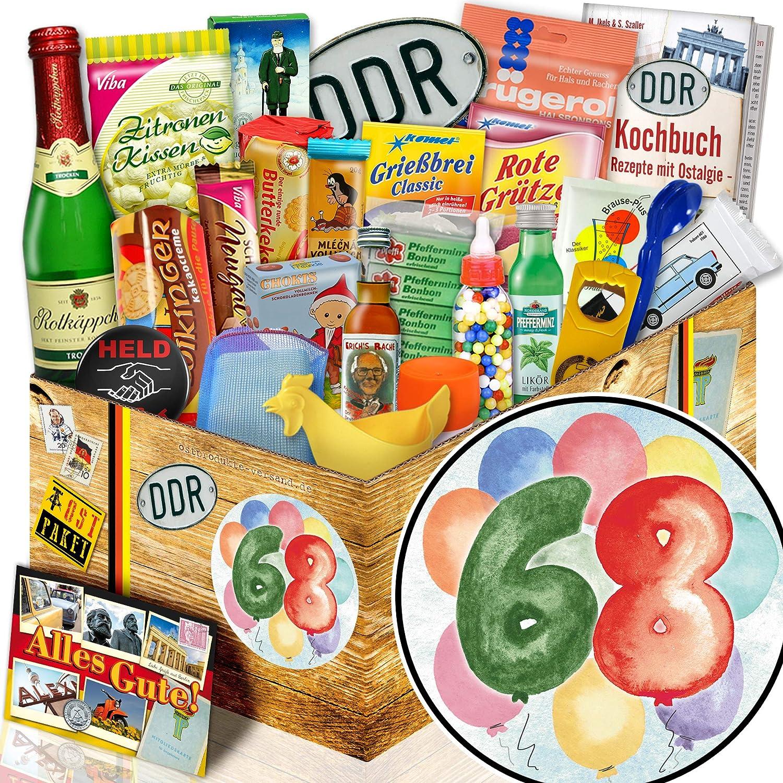 Geschenk Geschenk Geschenk zum Geburtstag 68.   DDR Box 24tlg.   68 Geburtstag Geschenk B07FNHRBNZ | New Products  5fc69c