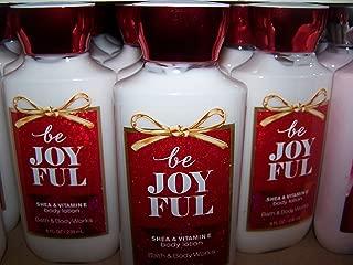 Lot of 3 Bath & Body Works Be Joyful Shea & Vitamin E Body Lotion 8 fl oz each (Be Joyful)