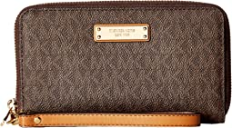 MICHAEL Michael Kors - Wristlets Large Flat Multifunction Phone Case