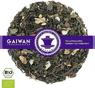 """N° 1373: Tè verde biologique in foglie """"Kashmir verde"""" - 1 kg - GAIWAN® GERMANY - tè in foglie, tè bio, tè verde dalla Cina, tè cinese, zenzero, cassia, arancia, chiodi di garofano, 1000 g"""