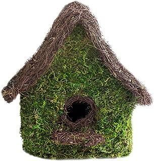 Super Moss (56052) Maison Woven Birdhouse Medium, 9.5