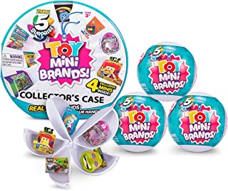 5 Surprise Toy Mini Brand Series 1 Collector's Kit - Amazon Exclusive Mystery Capsule Real Miniature Toys by Zuru (3 Capsu...