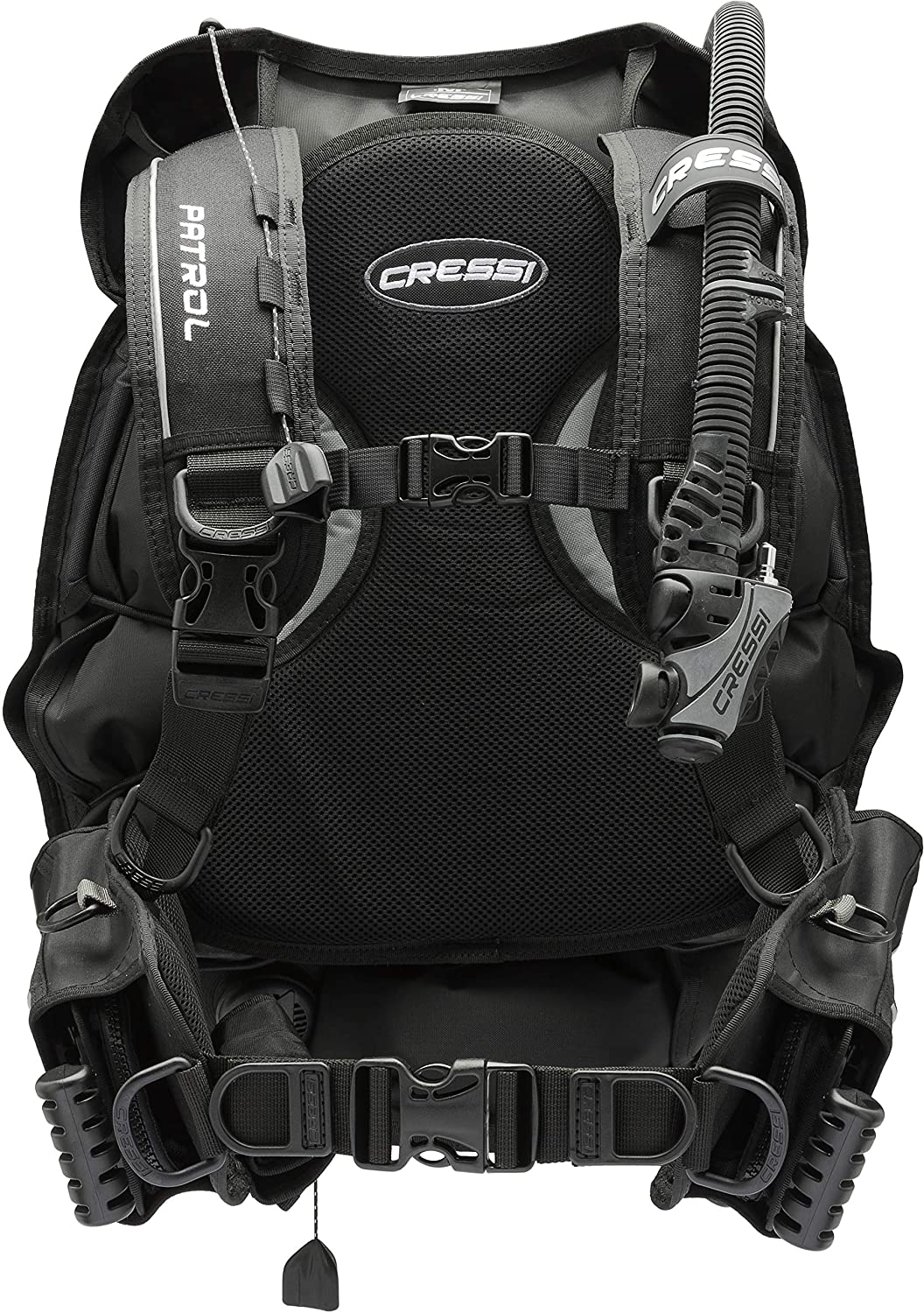 Cressi Travel-Friendly Light Back Inflation New products, world's highest quality popular! Diving Sale item for Scuba BCD