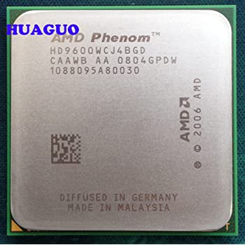 AMD HD9600WCGDBOX Phenom 9600 Quad Core Processor 2.3GHz 4MB Cache 95W Thermal Design Power Processor