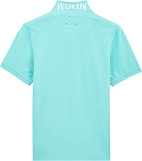 Vilebrequin Men Cotton Pique Polo Shirt Solid
