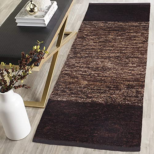 ARFA HOME FURNISHING Polyester Blend Soft Indoor 22x55-inch Shag Area Rug Carpet with Feather Touch for Dining Room, ...