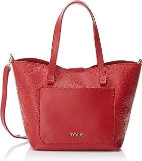 Mossaic Pequeño, Bolso totes para Mujer, Rojo (Red), 17x19x20 cm (W x H x L)