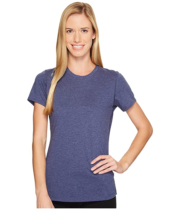 New Balance Heather Tech Tee (Pigment Heather) Women