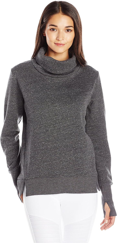 Alo Yoga Womens Haze Long Sleeve Top Sweatshirt