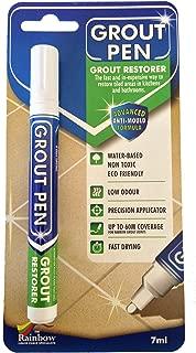 White Grout Pen 7ml Tile Grout Whitener
