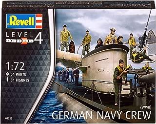 Revell- tripulación submarina Alemania Naval, la Segunda Guerra Mundial (Conjunto de Caracteres) en Escala 1:72 51 Figuras (02525)