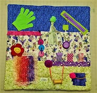 Memory Loss Fidget Quilt Blanket Dementia Alzheimer's Nursing Home Fairies in the Garden Name Embroidered Free