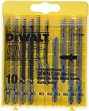 DEWALT DT2294-QZ 10 decoupeerzaagbladen met 5 hout en 5 voor metaal DT2165 x 2, DT2050 x 2, DT2163 x 2, DT2177 x 2, DT2160...