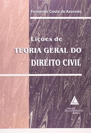 Lições De Teoria Geral Do Direito Civil