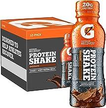Gatorade Recover Protein Shake, Chocolate, 11.16 Fl Oz, Pack of 12