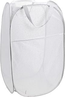 WeeDee Panier à linge pliable - 60 x 34 x 34 cm - Blanc