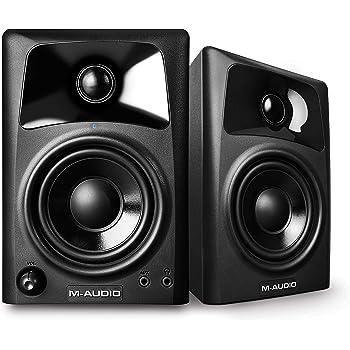 M-Audio 10-Watt Compact Studio Monitor Speakers with 3-inch Woofer (Set of 2)