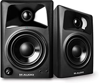 M-Audio AV32 | Compact Active Desktop Reference Monitor Speakers For Premium Playback,..