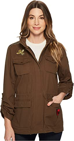 Vince Camuto 4-Pocket Patch Work Parka