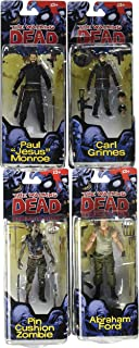 The Walking Dead Comic Series 4 Set of 4 Action Figures