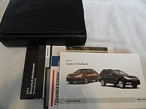 Best 2012 subaru impreza owner's manual Reviews