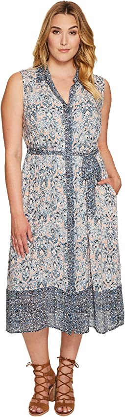 Plus Size Printed Emily Dress
