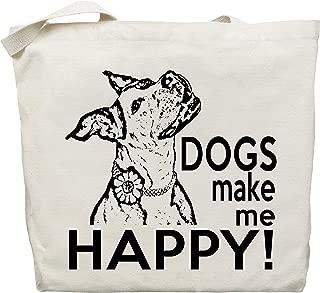 Funny Dog Tote Bag - by Pet Studio Art