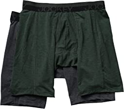 Jockey - Sport Outdoor Midway Brief 2-Pack