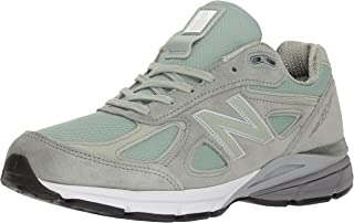 New Balance Men's 990v4 Running Shoe, Silver Mint/Silver Mint, 11 D US