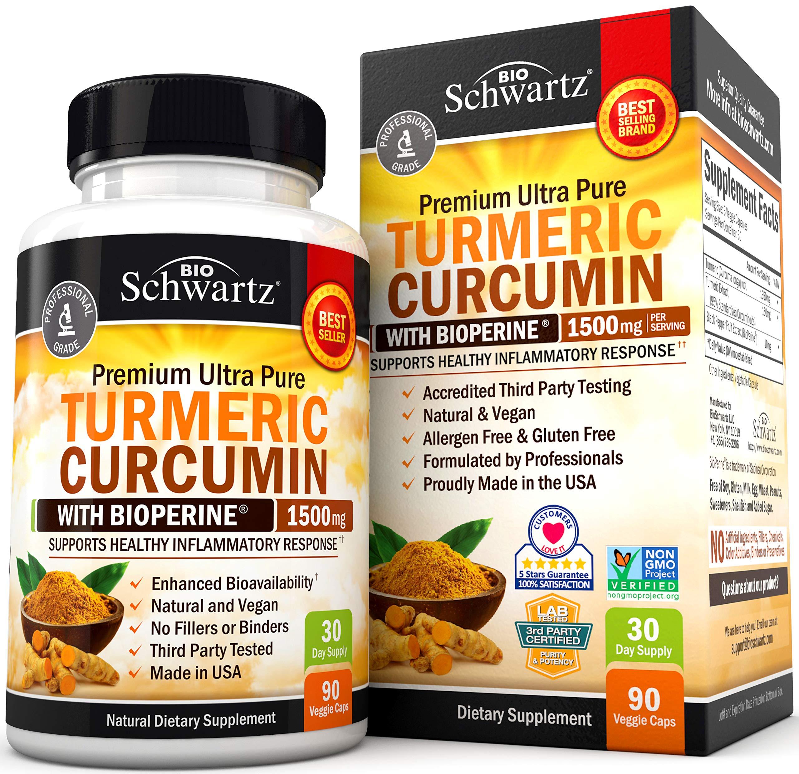 Turmeric Bioperine Available Standardized Curcuminoids