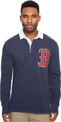 Levi's® Mens Red Sox LSC Rugby Solid Shirt