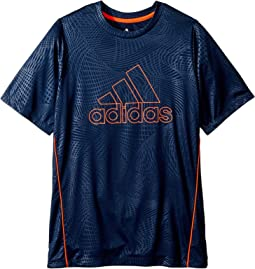 Embossed Net Training Top (Big Kids)
