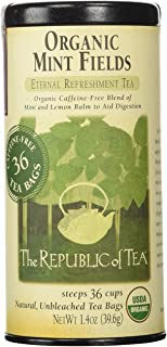 Sponsored Ad - The Republic of Tea Organic Mint Fields Tea, 36 Tea Bags, Herbal Mint Blend