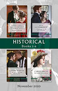 Historical Box Set 1-4 Nov 2020/Christmas Cinderellas/A Shopkeeper for the Earl of Westram/One Snowy Night With Lord Hauxt...