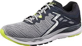 361 Degrees Men's Sensation 3 High Performance Stability Lightweight Running Shoe, Sleet/Ebony, 8D