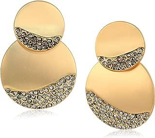 T Tahari Women's Post Drop Earrings, Gold, One Size
