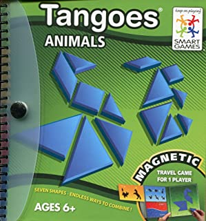 Smart Games SGT 121- Tangoes Animals - Magnetic Travel Game
