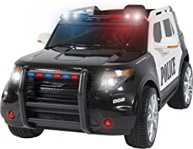 24 volt ride on police car