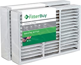 FilterBuy 16x25x5 Honeywell FC200E1029 Compatible Pleated AC Furnace Air Filters (MERV 8, AFB Silver). Replaces Honeywell 203719, FC35A1001, FC100A1026, FC100A1029 and Carrier FILXXCAR0016. 2 Pack.