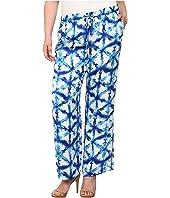 MICHAEL Michael Kors - Plus Size Tie-Dye Wideleg Pants