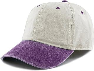 4be5a7d1e9b THE HAT DEPOT 100% Cotton Pigment Dyed Low Profile Six Panel Cap Hat