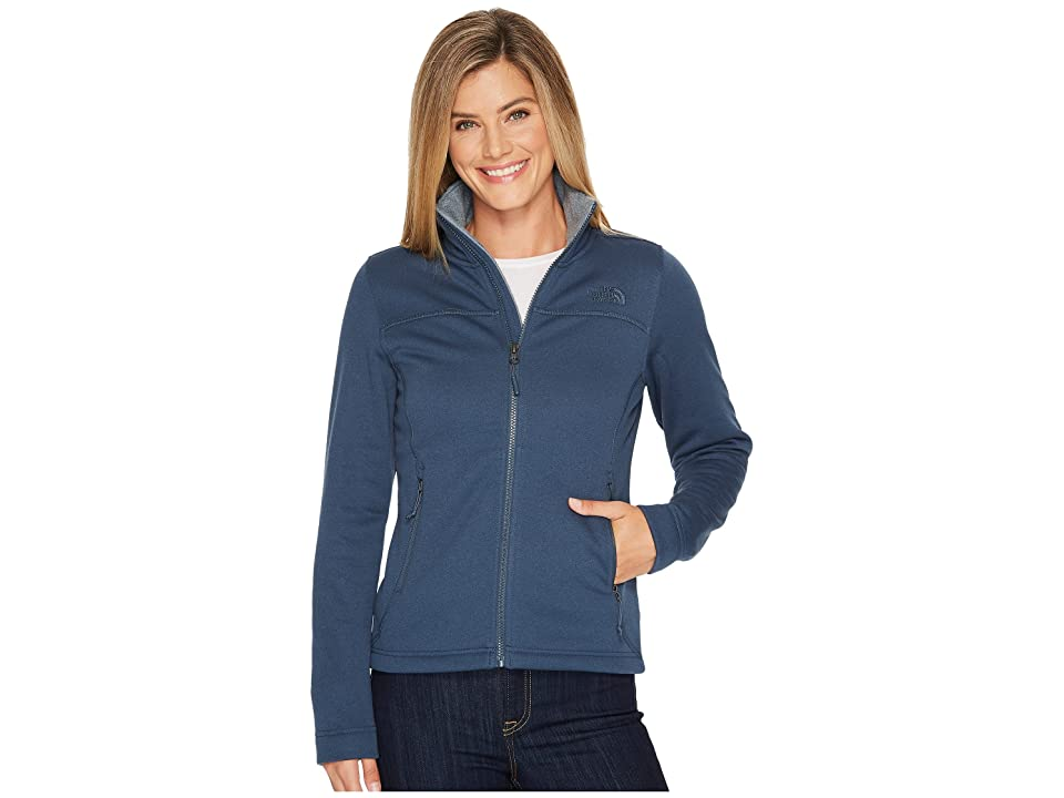 The North Face Timber Full Zip (Ink Blue Heather) Women