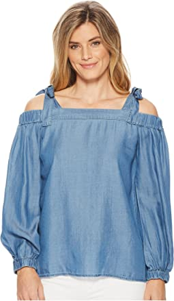 MICHAEL Michael Kors - Tencel Off Shoulder Top