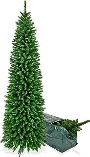 Albero Di Natale Stretto.Amazon It Albero Di Natale Slim 4 Stelle E Piu