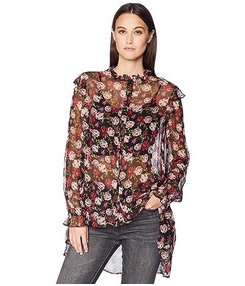 The Kooples Long Sleeve Loose Shirt