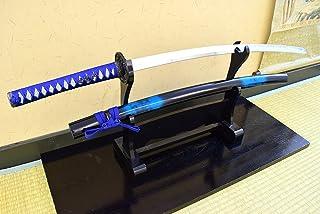 時雨(しぐれ)大刀 模造刀 コスチューム用小物 全長105cm(しのびや特製観賞用美術刀剣証明書付き)