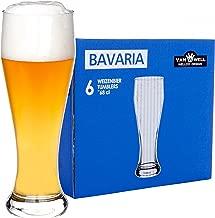 6er Set Bavaria Weizenbiergläser 0,5 Liter geeicht