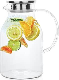 Best borosilicate glass jug Reviews