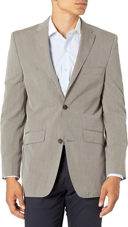 Savane Men's Tailored Light Pinstripe Suiting Jacket