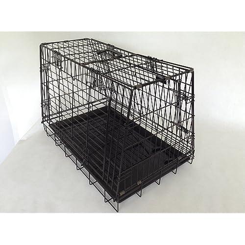 Sloping shaped Single dog car cage GYC03